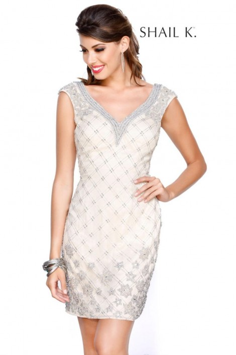 Shail K 1011 Sequin Bachelorette Party Dress: French Novelty