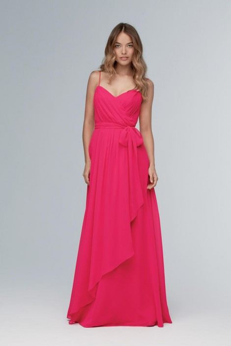 Size 14 Marsala Wtoo 102 Grecian Bridesmaid Gown: French Novelty