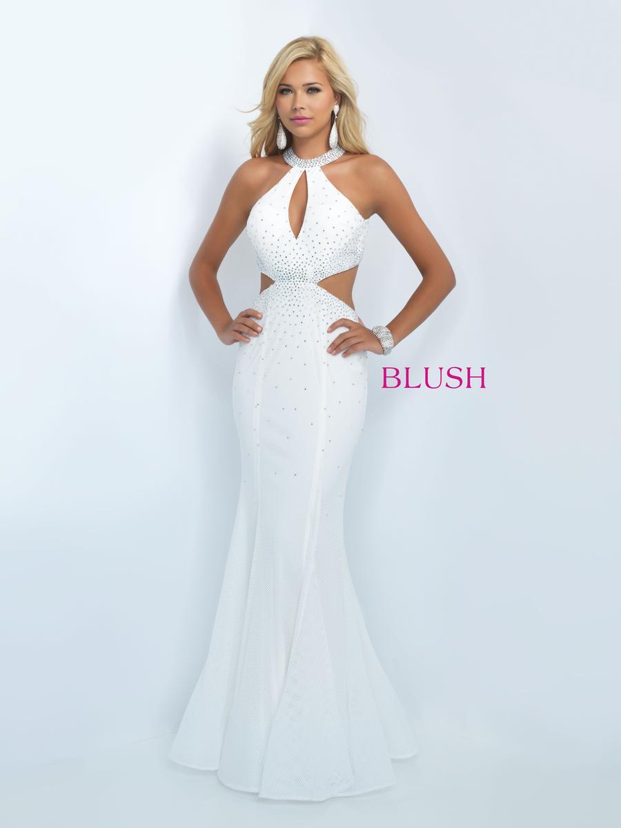 Blush 11034 Elegant Mermaid Prom Dress: French Novelty