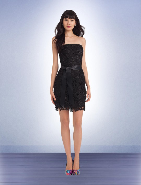 35176022d1 Bill Levkoff 1110 Paisley Lace Tail Bridesmaid Dress French Novelty