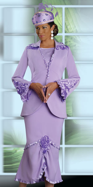 Donna Vinci Womens Church Suit 11112 French Novelty