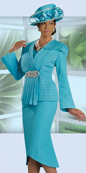 Donna Vinci Womens Church Suit 11116 French Novelty