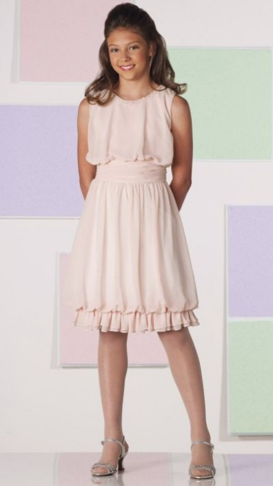 Joan Calabrese for Mon Cheri Girls Chiffon Dress 111350: French ...