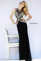 Sherri Hill 11158 Illusion Evening Dress image