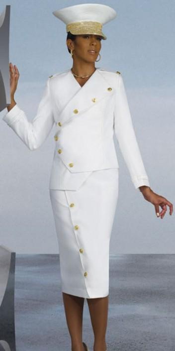 Donna Vinci 11181 Womens Silk Look Church Suit