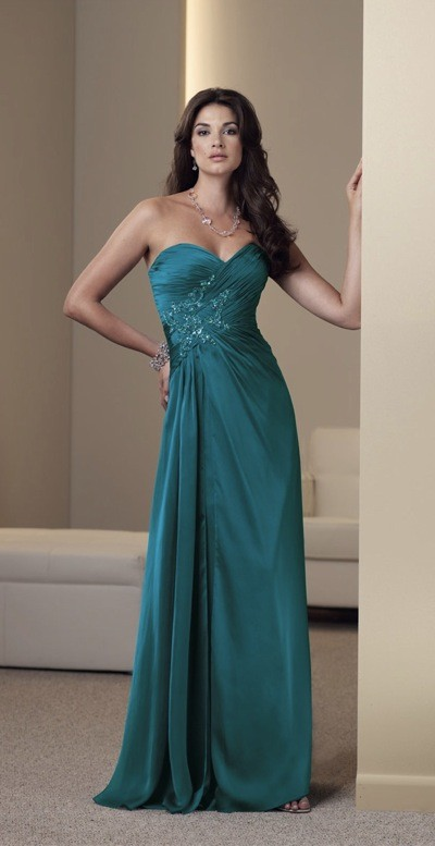 Young Mother Of Bride Evening Dresses 121