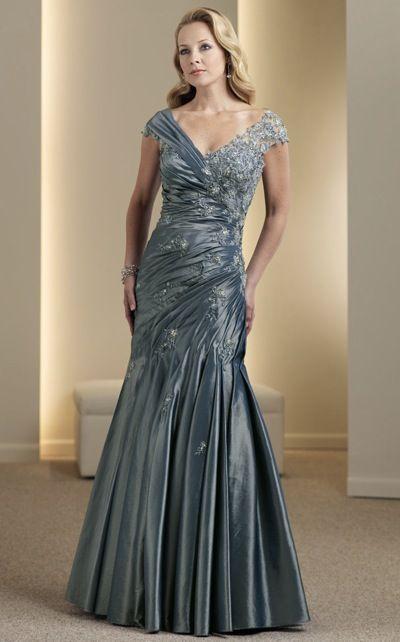 Evening Dresses Lace Montage