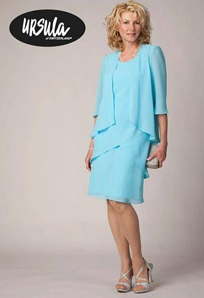 Ursula Short Mother Of The Bride Dress 11222