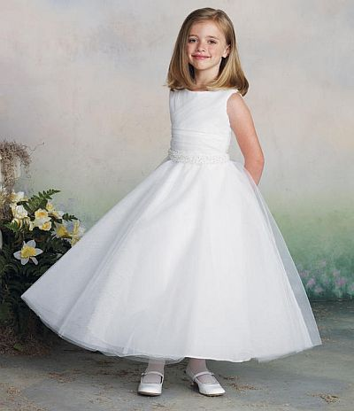 White Dress For Girls - Qi Dress