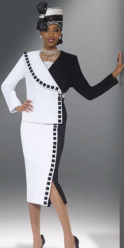 Donna Vinci Womens Church Suit 11238 French Novelty
