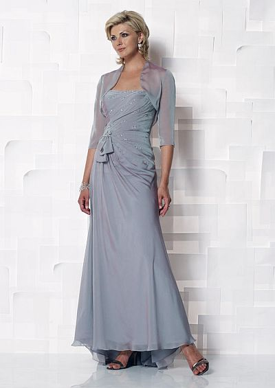 Cameron Blake Iridescent Chiffon Mother of the Bride Dress 112647 ...