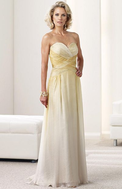 Ombre Evening Dress 112908