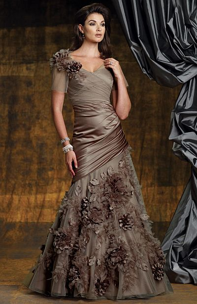 Montage Boutique Ball Gown with Jacket by Mon Cheri 112951: French ...