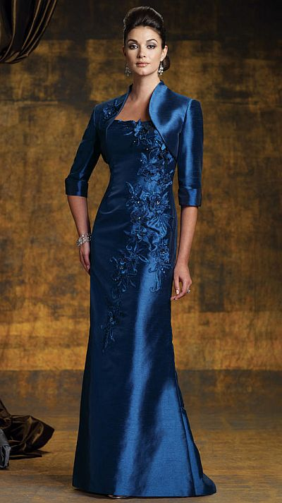 Shantung Silk Mother Of The Bride Dresses - Wedding Dresses In Jax