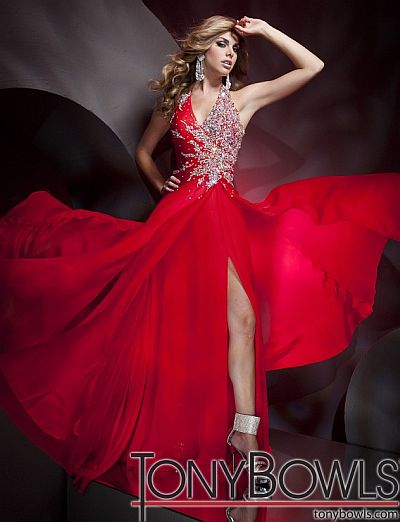 Tony Bowls Collection 112C05 Pageant Dresses: French Novelty