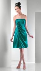 0e236e2c604 Size 12 Short Strapless Bari Jay Bridesmaid Dress 113
