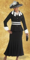 Donna Vinci 11305 Womens Peach Skin  Church Suit image