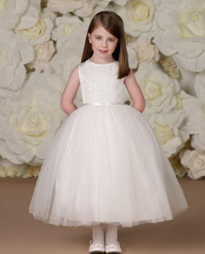 Joan Calabrese 113337 Little Flower Girls Dress: French Novelty