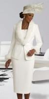 Donna Vinci 11334 Womens Suit with Rabbit Fur image