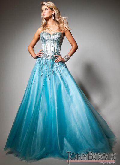 Turquoise Wedding Dresses