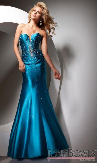 Tony Bowls Le Gala Formal Dress 113532: French Novelty
