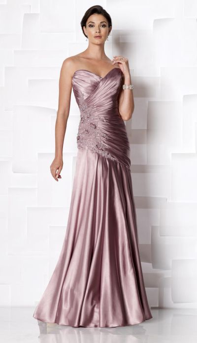 f1ec03eaec3f Cameron Blake 113609 Beaded Evening Dress with Shawl: French Novelty