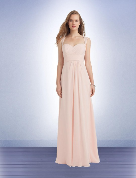 584a6587c8 Bill Levkoff 1138 Crinkle Chiffon Bridesmaid Gown French Novelty