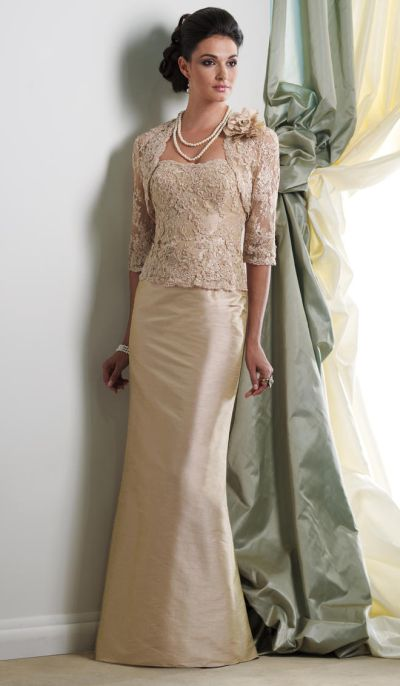 Montage Boutique 113944 Beaded Mother Of The Bride Jacket Dress