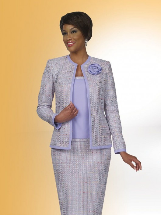 Ben Marc Executive 11426 Womens 3 Piece Suit French Novelty