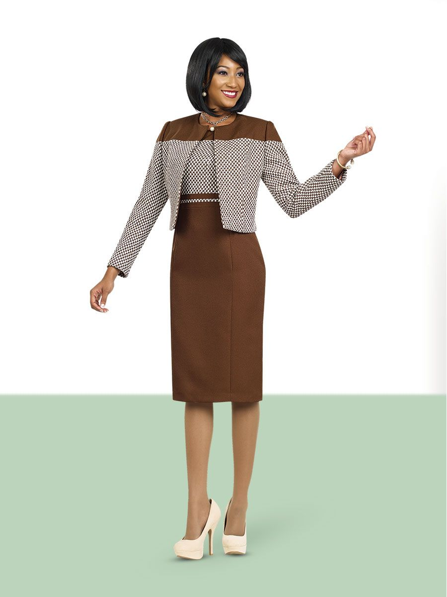 Ben Marc Executive 11458 Long Sleeve Jacket Dress: French ...
