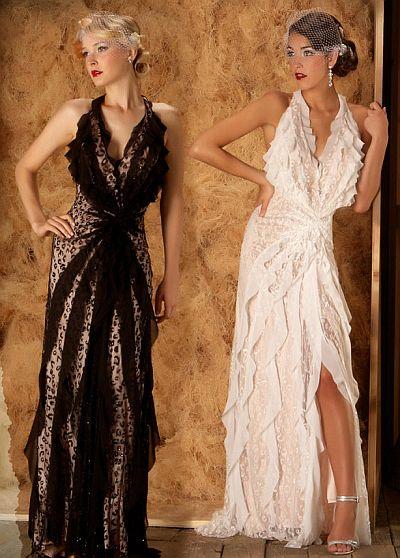 abendkleider günstig - Mac Duggal Couture Two Tone Sinnlich Abendkleid
