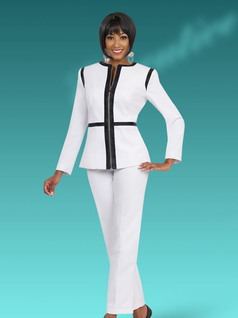 Ben Marc Executive 11488 Women S Pant Suit French Novelty