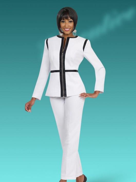 3302294e67b Ben Marc Executive 11488 Women s Pant Suit  French Novelty