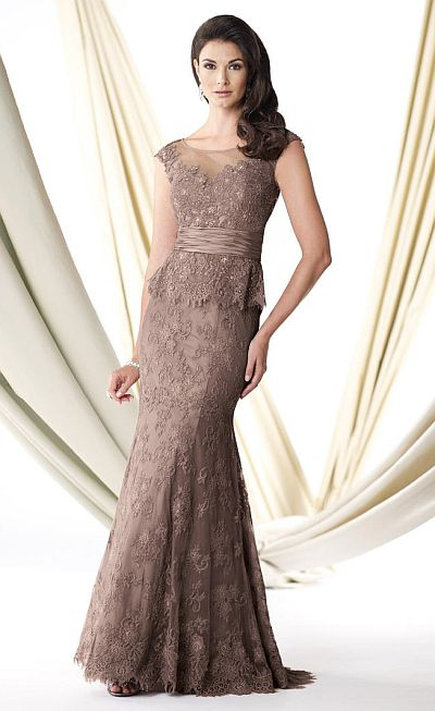 Mother of the Bride Dresses with Cap Sleeves