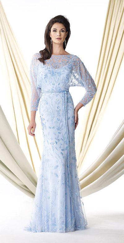 Ivonne d 114d40 dolman sleeves mother of the bride dress for Dolman sleeve wedding dress