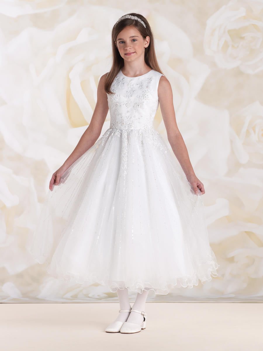 Joan Calabrese For Mon Cheri 115308 First Communion Dress - French Novelty