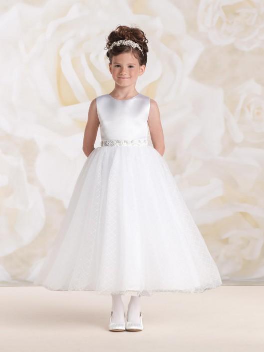 d8a05e09cf99 Joan Calabrese for Mon Cheri 115320 Girls Communion Dress: French Novelty