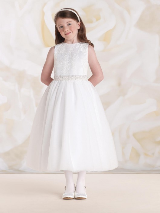 a8d36af1d25 Joan Calabrese for Mon Cheri 115324 Girls Party Dress  French Novelty