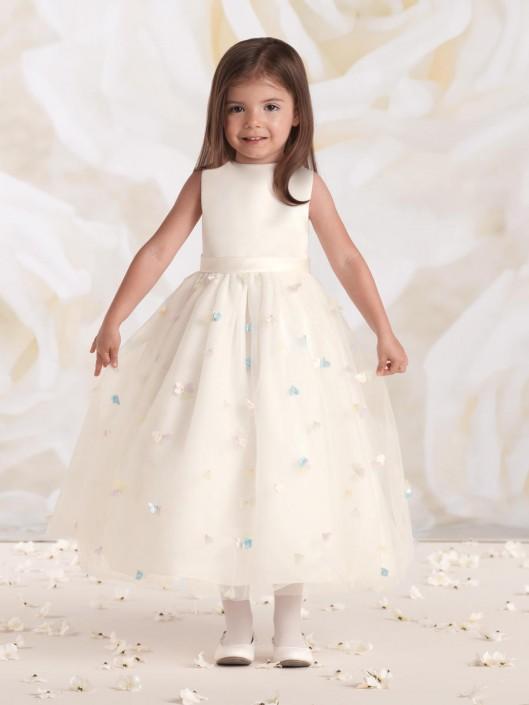 053424592400 Joan Calabrese for Mon Cheri 115328B Baby Flower Girl Dress: French Novelty