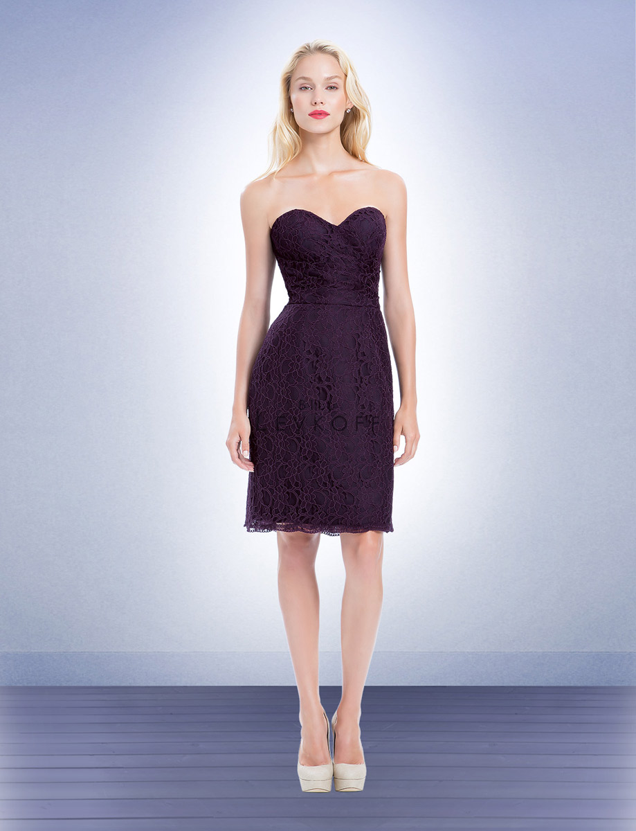 Bill levkoff 1157 corded lace short bridesmaid dress french novelty ombrellifo Gallery