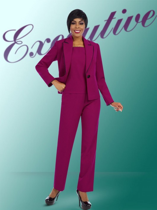 798efedbb4c Ben Marc Executive 11605 Ladies Career Pant Suit  French Novelty