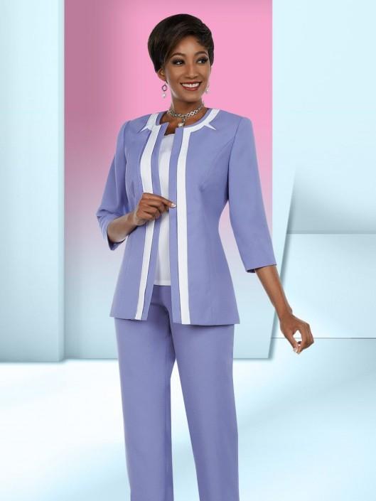 45d5171d3f4 Ben Marc Executive 11649 Ladies 3 Piece Pant Suit  French Novelty