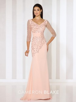 b3406b0544f8 Cameron Blake 116651 Glitter Print Mothers Gown