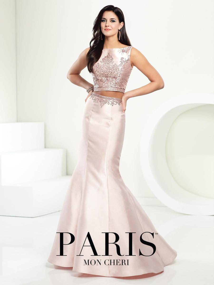 Mon Cheri Paris 116708 Two Piece Evening Dress: French Novelty