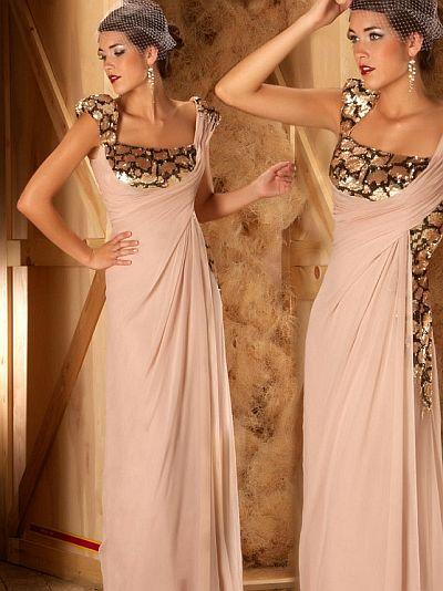 abendkleider lang , Mac Duggal Couture Weinlese Gefühl Abendkleid