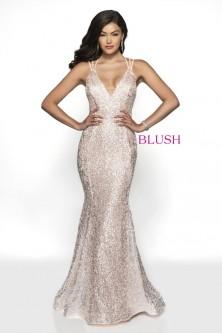 White Prom Dresses Blush by Alexia
