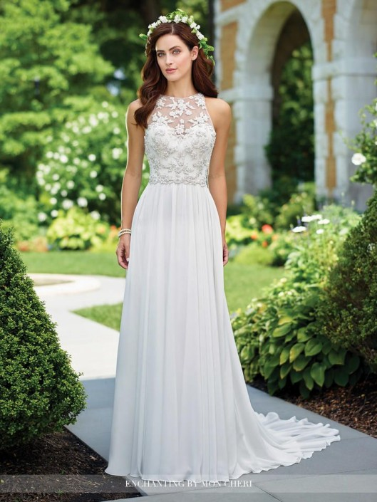 Enchanting by Mon Cheri 117174 Destination Bridal Gown: French Novelty