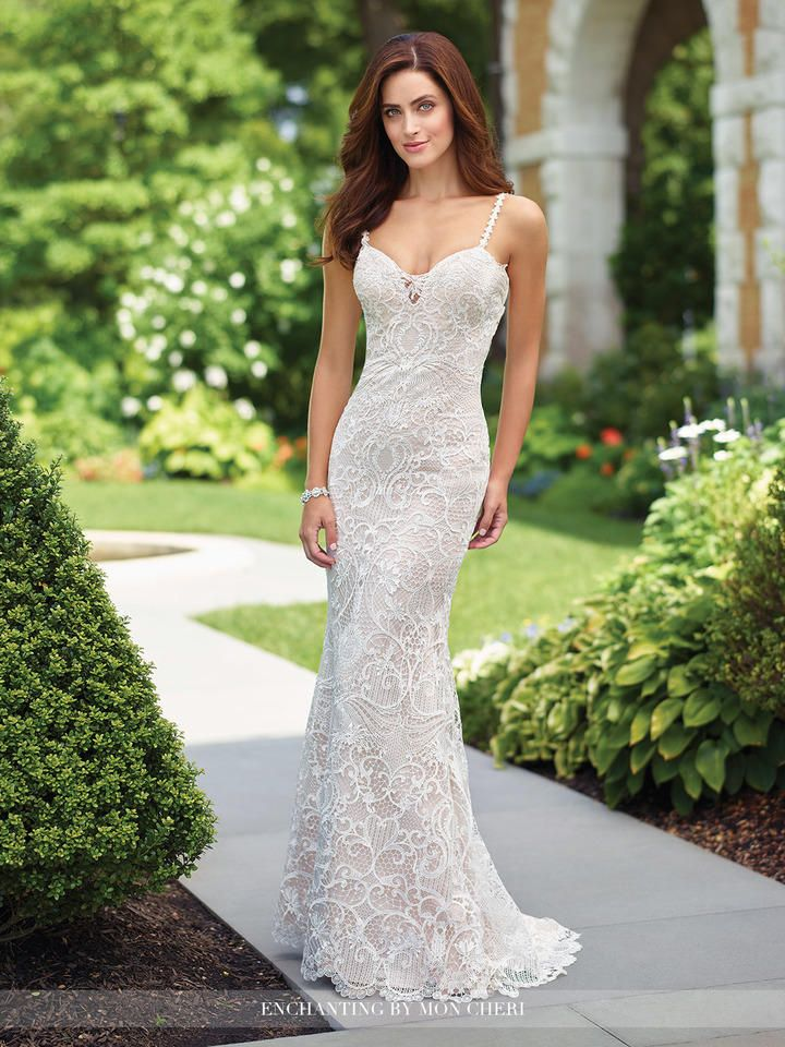 enchanting by mon cheri 117179 beaded lace destination gown  french novelty