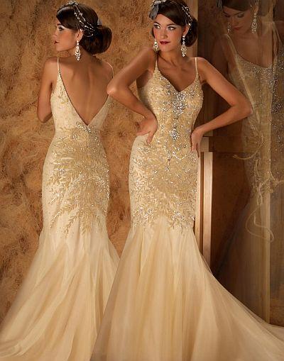 abendkleider günstig kaufen - Couture Cascading Layer-Mermaid Abendkleid