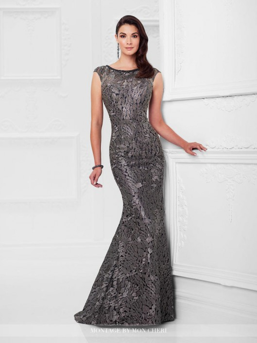 Montage 117922 Modern Beaded Mother Of The Bride Dress